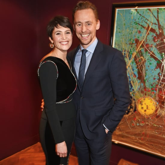 Gemma Arterton and Tom Hiddleston at Saint Joan Press Night