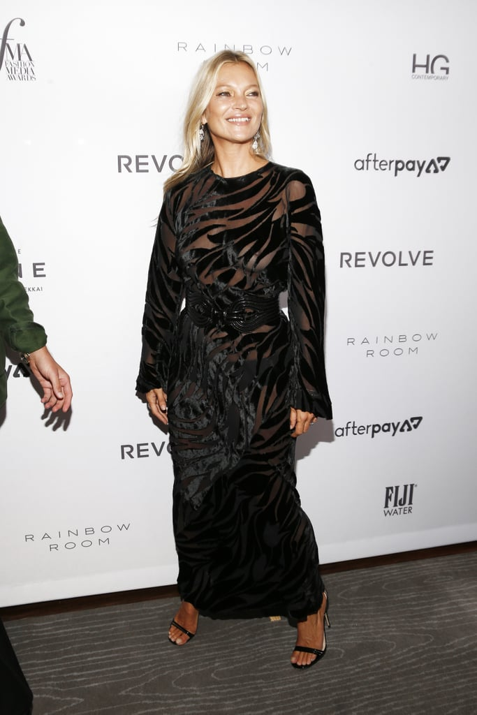 Kate Moss at The Daily Front Row Fashion Media Awards During New York Fashion Week