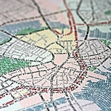 Gorgeous City Maps Made Entirely From Type