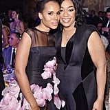 Pictured: Kerry Washington and Shonda Rhimes