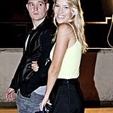 Luisana Lopilato smiled for the camera while holding onto Michael Bublé's arm.