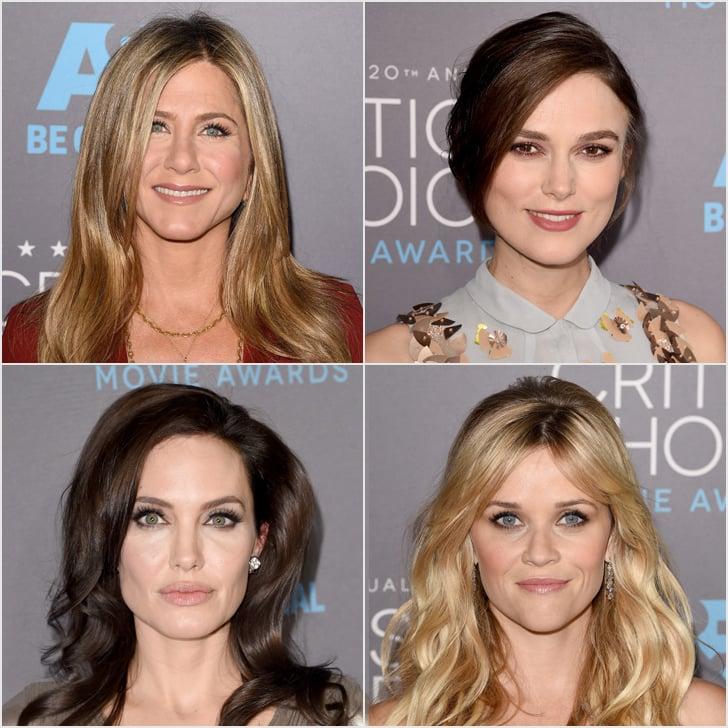 Hair and Makeup at Critics' Choice Awards 2015 | Red Carpet