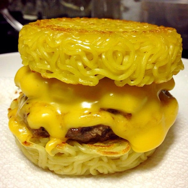 The First Generation Ramen Burger