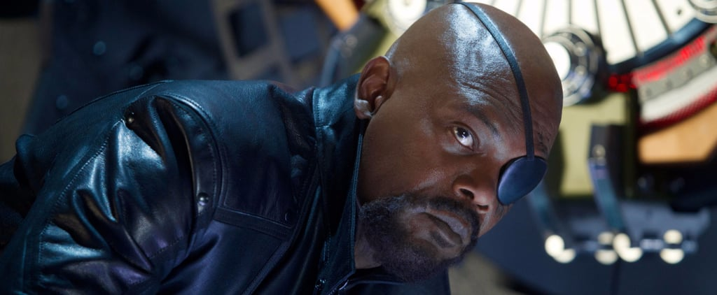 Samuel L. Jackson Is Bringing Nick Fury to Brie Larson's Captain Marvel