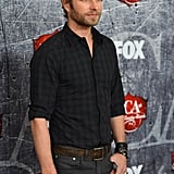 Dierks Bentley posed on the red carpet at the American Country Awards.