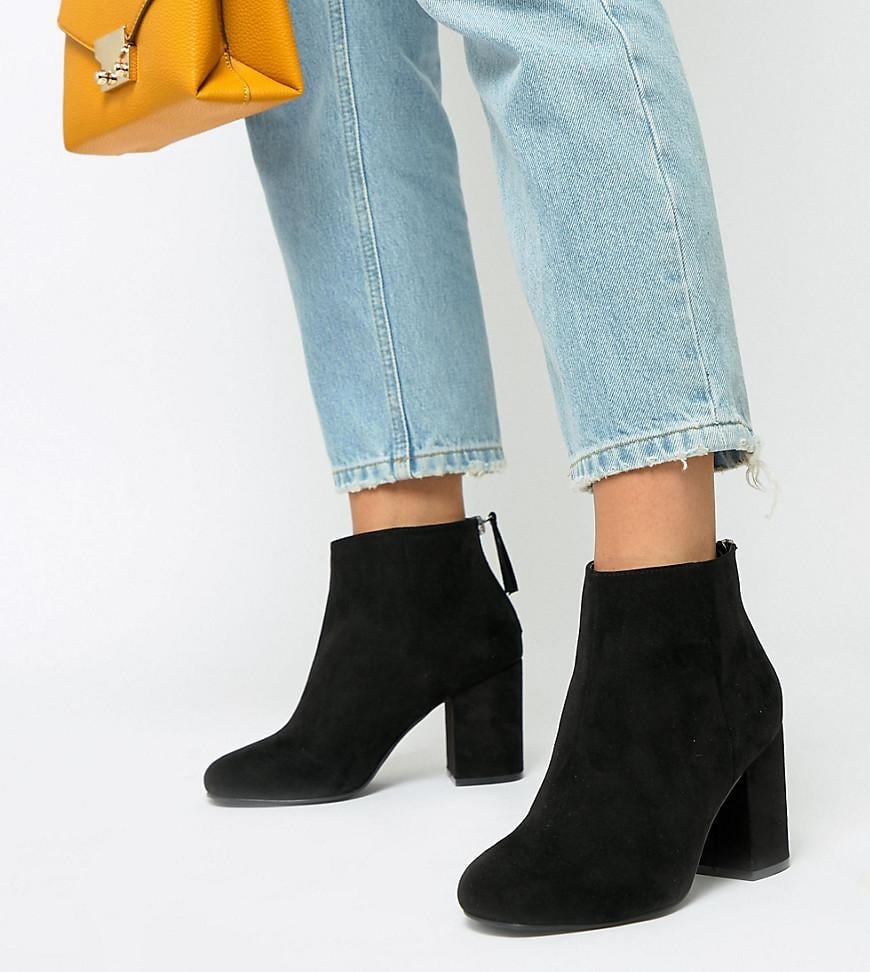 ASOS Design Beacon Zip Ankle Boots