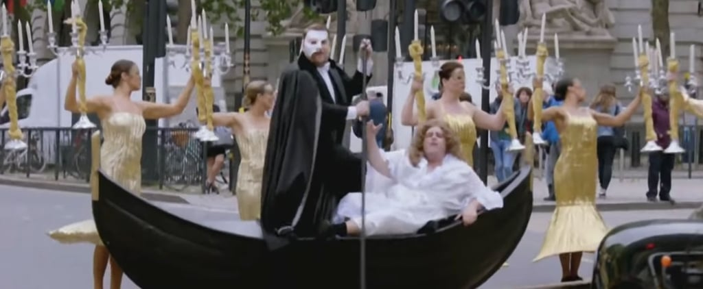 James Corden Crosswalk Musical Andrew Lloyd Webber Video