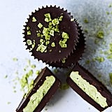 Dark Chocolate Matcha Coconut Butter Keto Cups