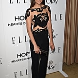We loved this sexy, sheer Zuhair Murad jumpsuit that Nina rocked at Elle's Annual Women in Television celebration.