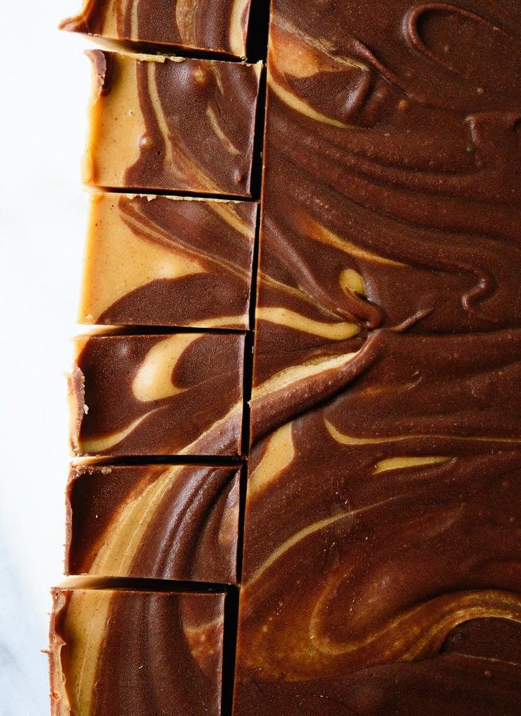 Easy Peanut Butter Chocolate Swirl Fudge Recipe