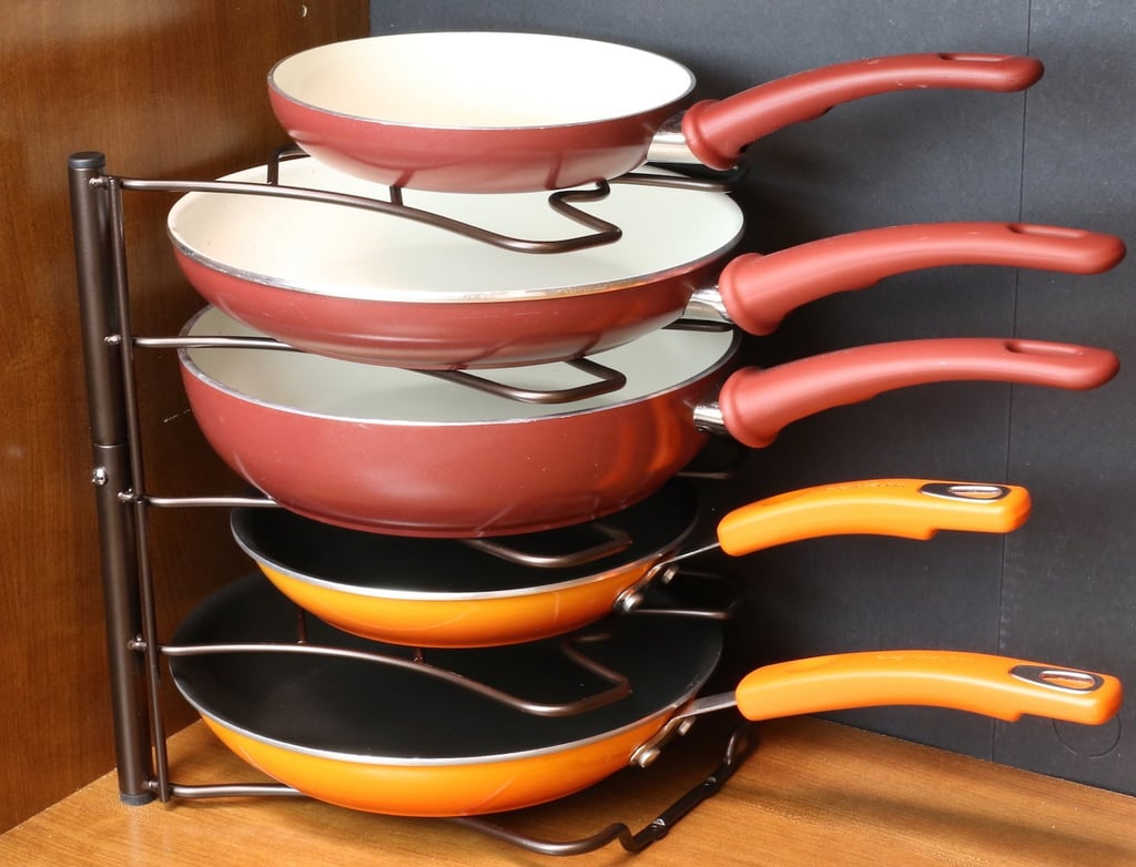 DecoBros Pan Kitchen Counter and Cabinet Pan Organizer