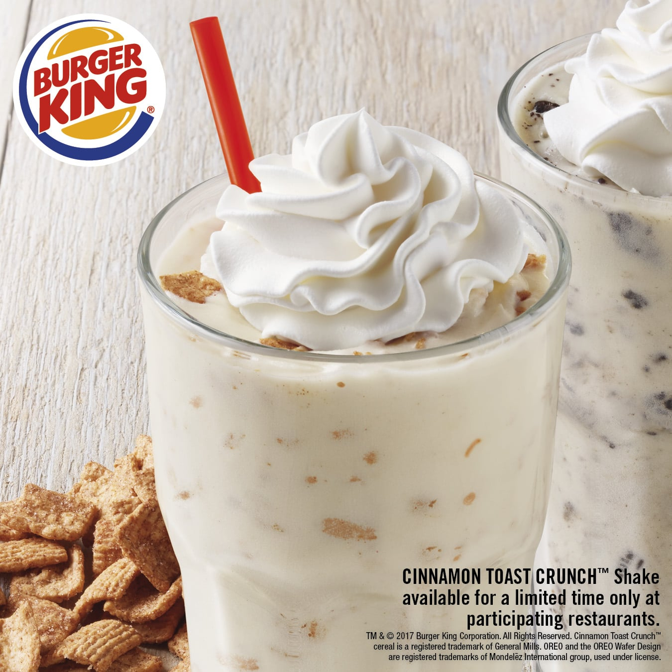Burger King Cinnamon Toast Crunch Milkshake POPSUGAR Food