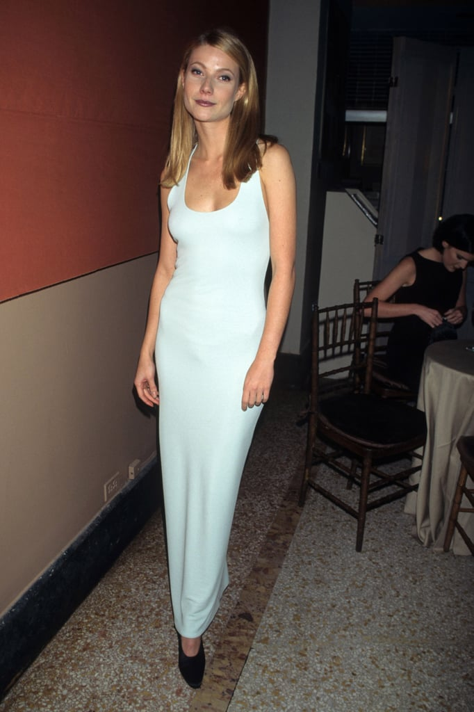 Gwyneth Paltrow Wearing Calvin Klein in 1995