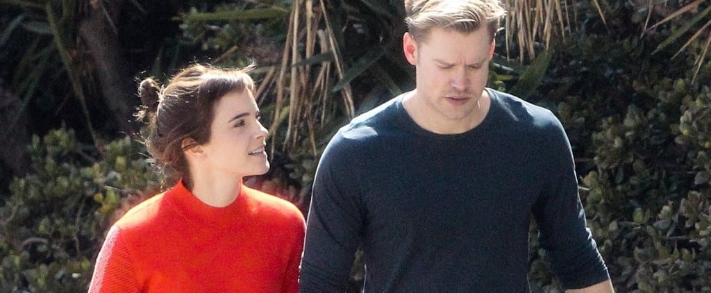 Emma Watson's Sweater Is a Romantic Shade of Red For All the Right Reasons