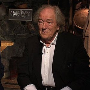 Harry Potter Interview With Robbie Coltrane and Michael Gambon