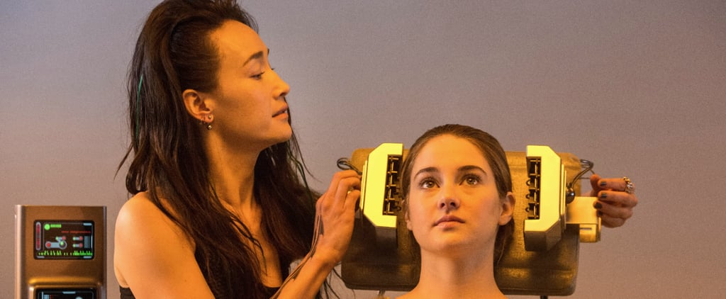 Divergent Scene With Shailene Woodley and Maggie Q
