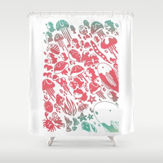 Ponyo Shower Curtain ($68)