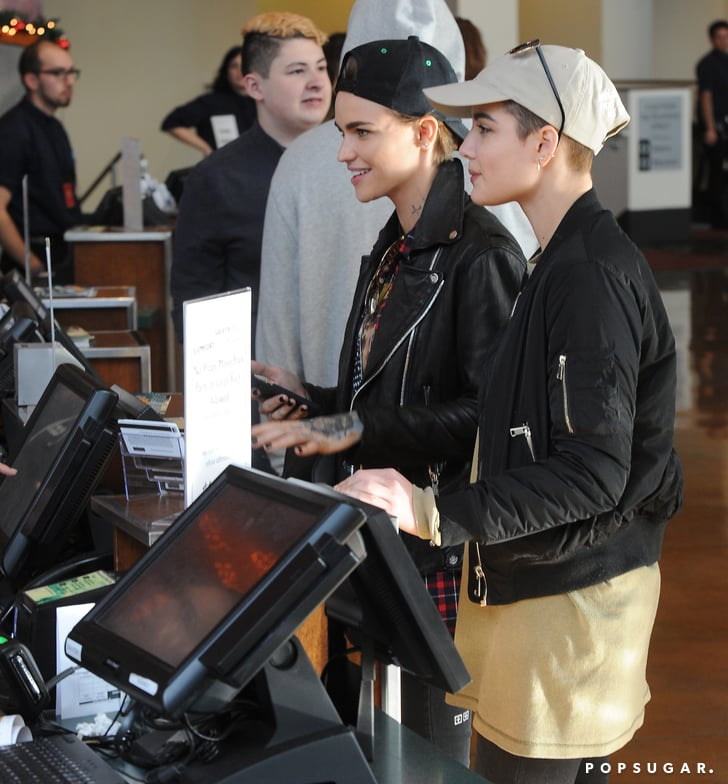 Ruby Rose And Halsey Movie Date Popsugar Celebrity Photo 3