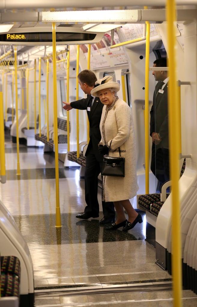 When Queen Elizabeth Ii Was On The London Tube