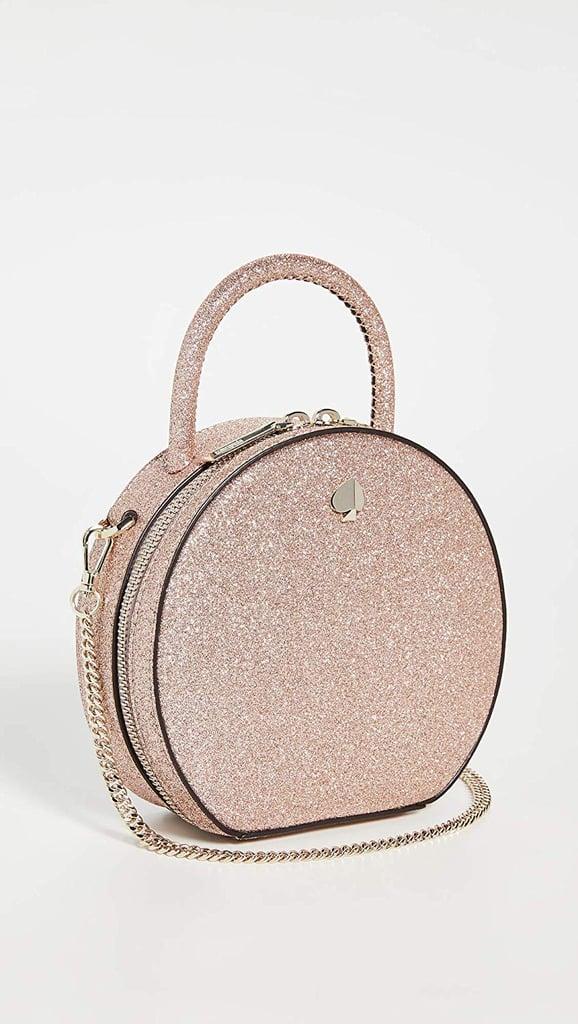 Kate Spade New York Andi Glitter Mini Canteen Bag