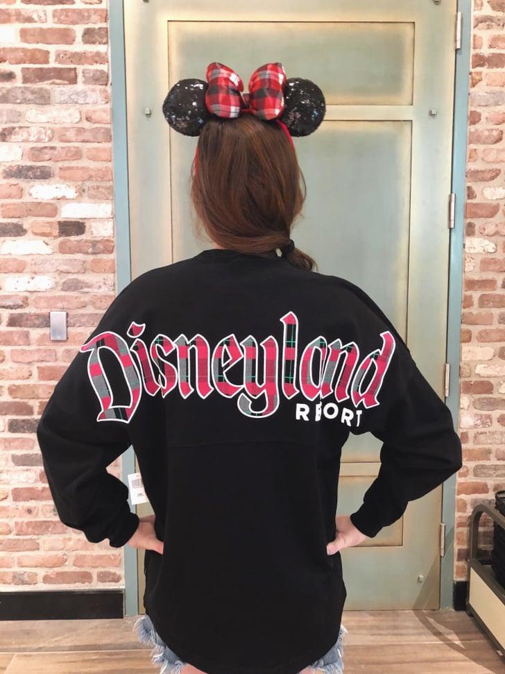 Holiday Plaid Disneyland Spirit Jersey Disneyland Resort