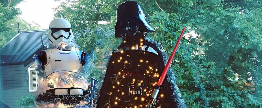 Star Wars Christmas Trees Bring the Force Right Into Your Living Room
