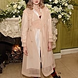 Lily Cole at the British Vogue and Tiffany & Co. Fashion and Film Party