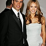 Cash Warren and Jessica Alba in 2006