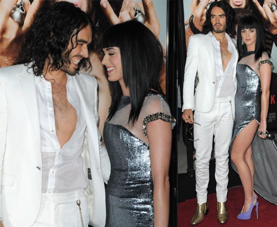 Pictures of Katy Perry and Russell Brand Looking Cute on the Red Carpet at Get Him to the Greek LA Premiere, Zac Efron & Vanessa