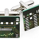 Circuit Board Cuff Links