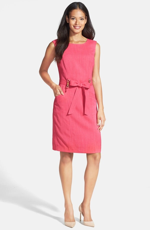 Ellen Tracy Sleeveless Sheath