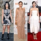 Selena Gomez, Natalie Portman, and Dakota Johnson