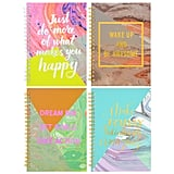Spiral Notebooks With Inspirational Covers ($1 each)
