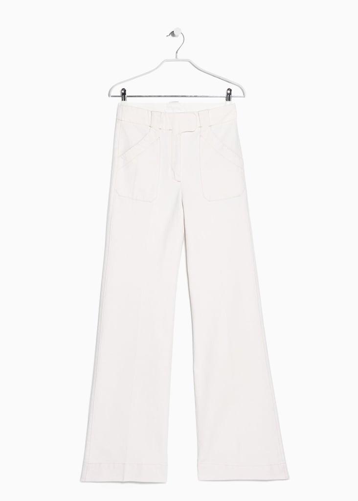 Mango Premium Flared Jeans ($80)