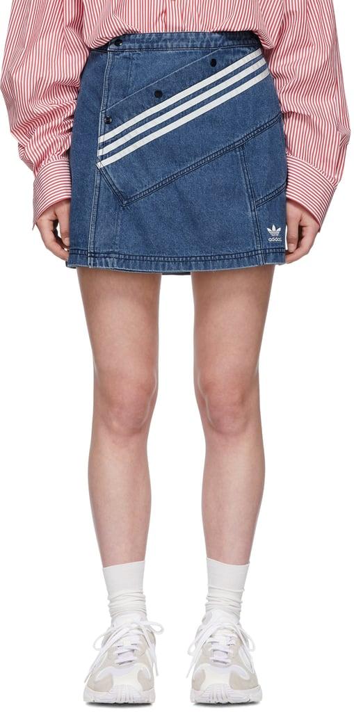 My Pick: Adidas Originals by Daniëlle Cathari Blue Denim Miniskirt