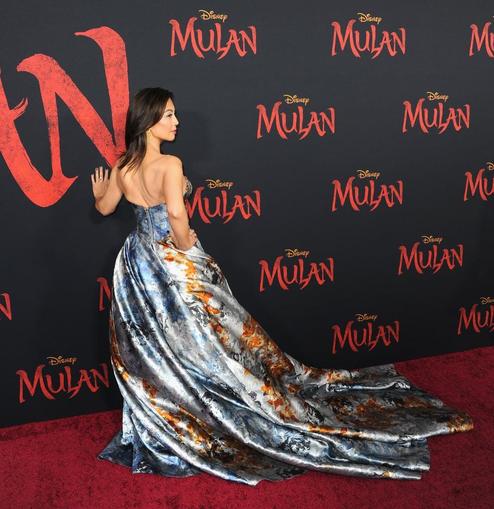Ming-Na Wen at the World Premiere of Mulan in LA