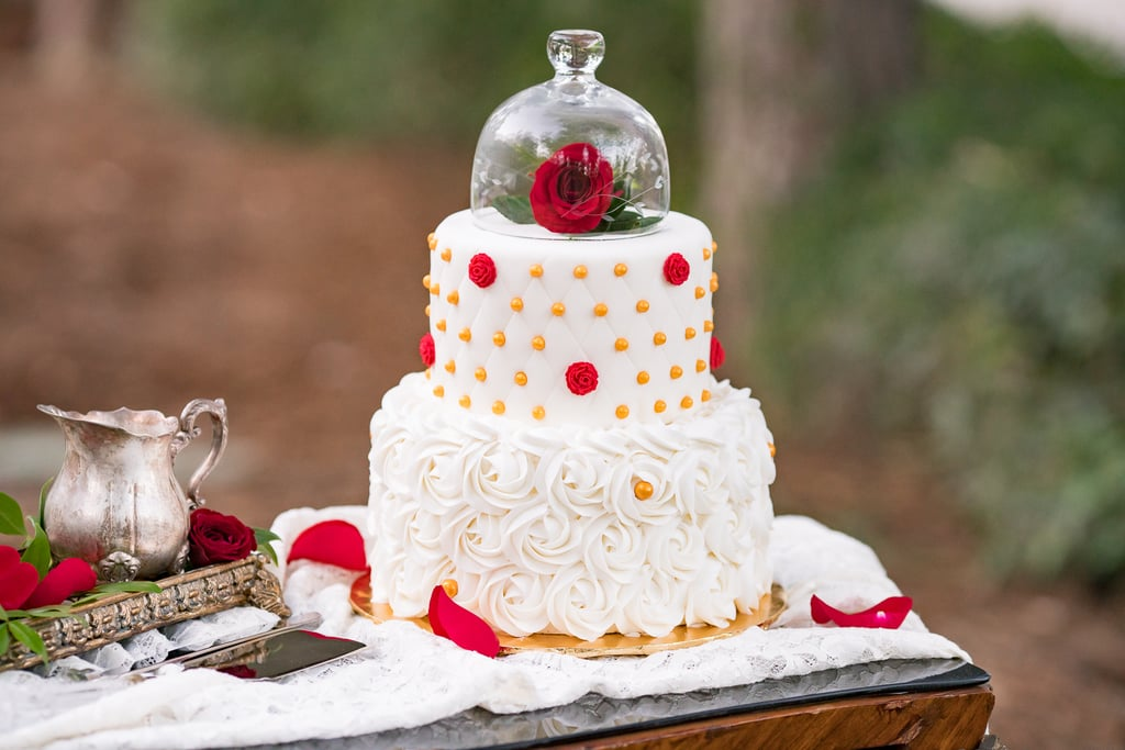 Beauty And The Beast Disney Wedding Cake Ideas Popsugar Food Photo 6