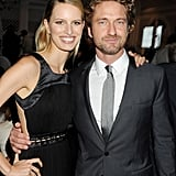 Karolina Kurkova partied in Cannes with Gerard Butler.