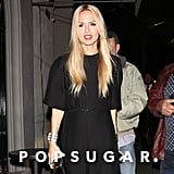 Rachel Zoe opted for a night out on Monday in LA.