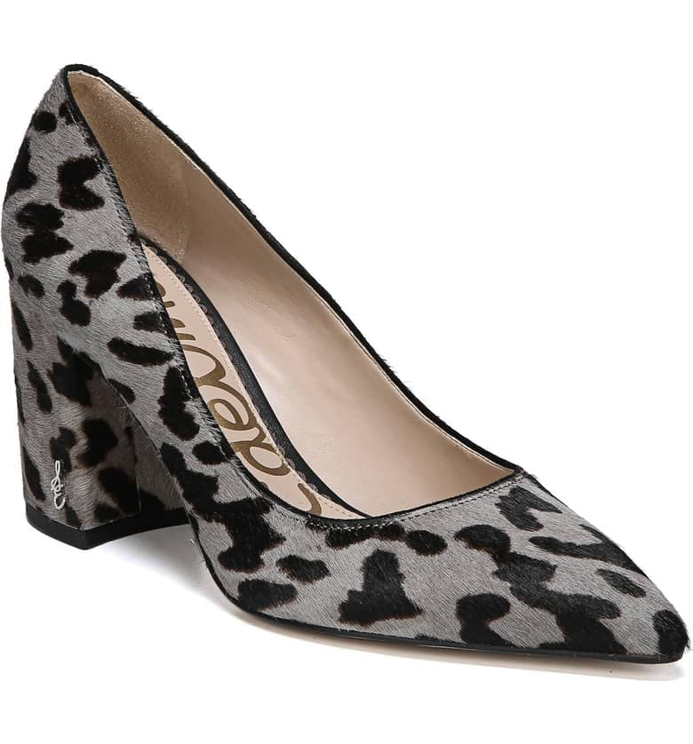 Sam Edelman Tatiana Genuine Calf Hair Pump
