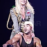 Photos of Britney Spears and The Boys in Sydney