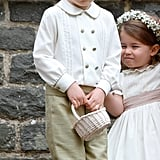 Meghan and Harry's Pageboys