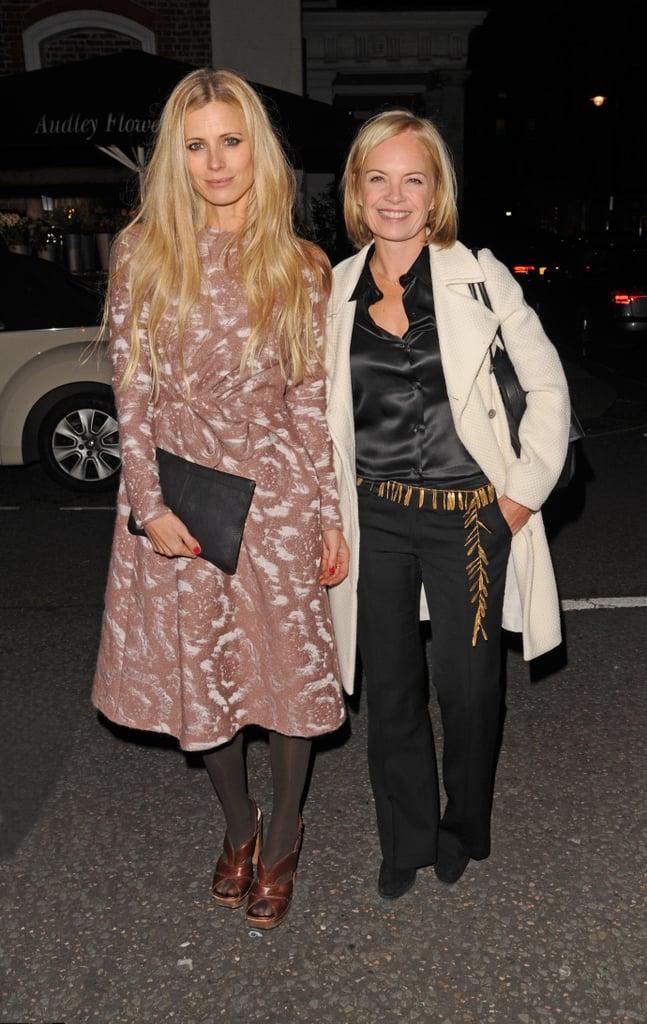 Laura Bailey and Mariella Frostrup