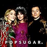 Saoirse Ronan, Dakota Johnson, and Harry Styles