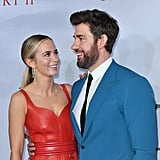 Emily Blunt and John Krasinski at A Quiet Place 2 Premiere