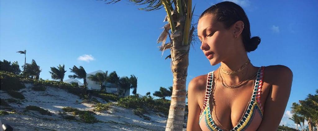 Bella Hadid's Kiini Bikini July 2016