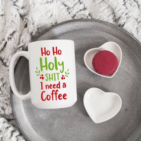 Curse-Word Holiday Coffee Mugs