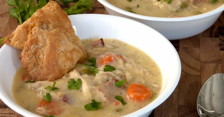 Chicken Pot Pie Soup Recipe Popsugar Food