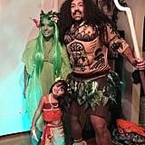 Moana, Maui, and Te Fiti