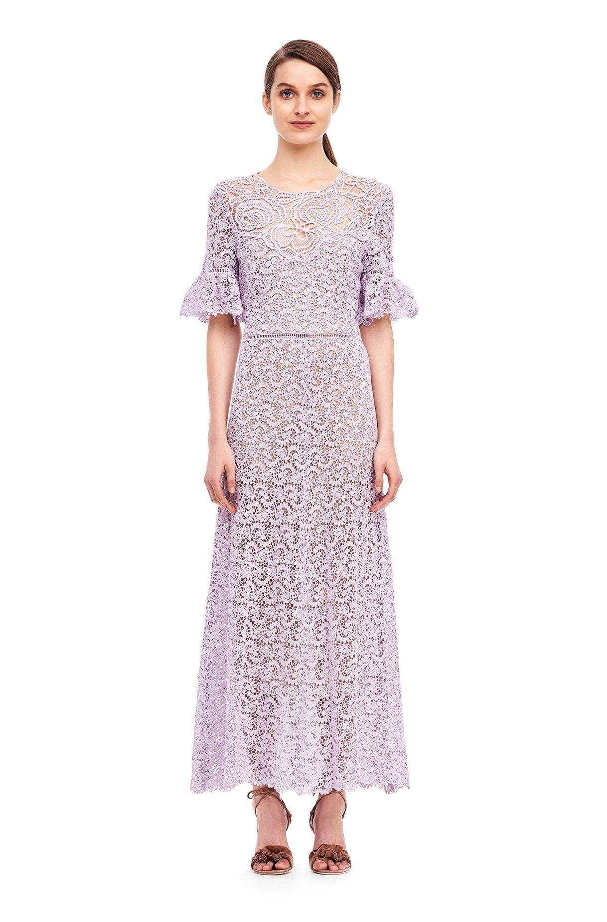 Rebecca Taylor Eliza Lace Midi Dress 8 Things Fashion